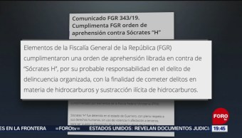 Foto: Fgr Detiene General Retiro Acusado De Huachicolero 18 Julio 2019