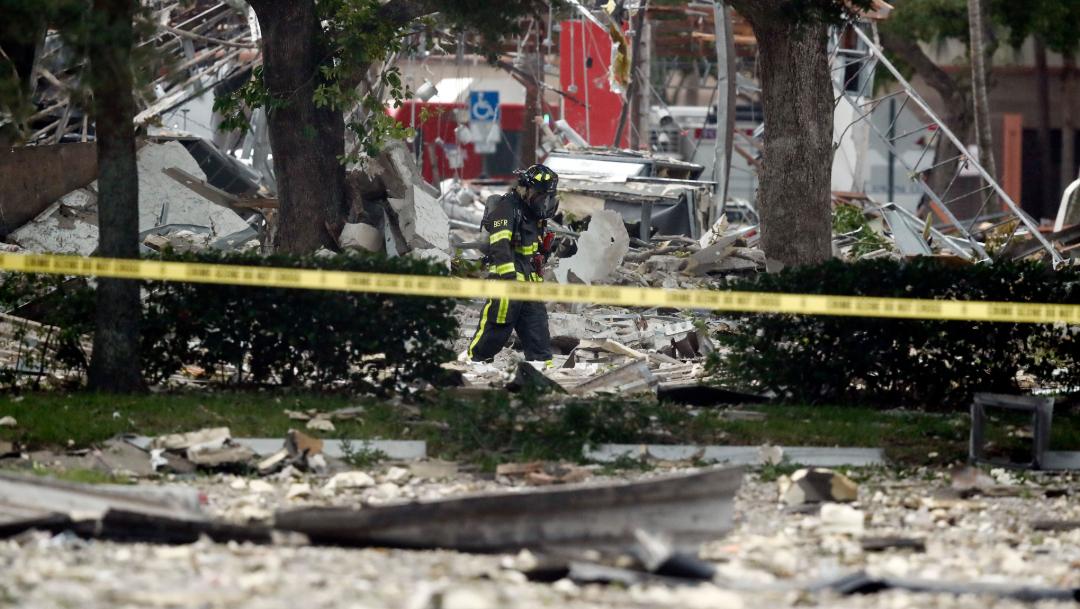 Foto: Explosión en un centro comercial de Florida, 6 julio 2019