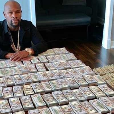 VIDEO: Floyd Mayweather presume cómo se ven 2 millones de dólares en efectivo