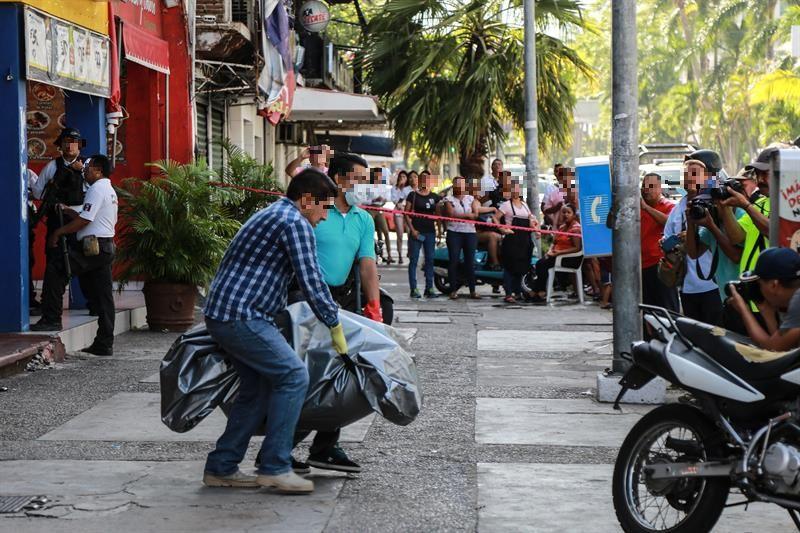 Balacera en bar de Acapulco,