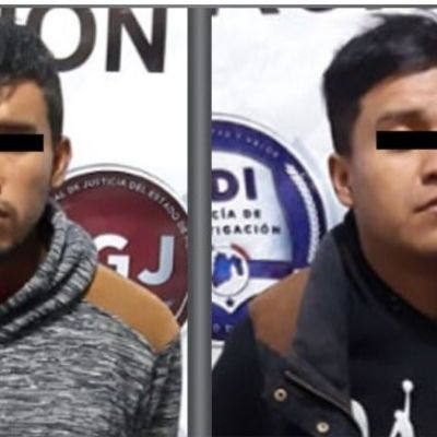 Detienen a dos presuntos asaltantes de transporte público en Tecámac, Edomex