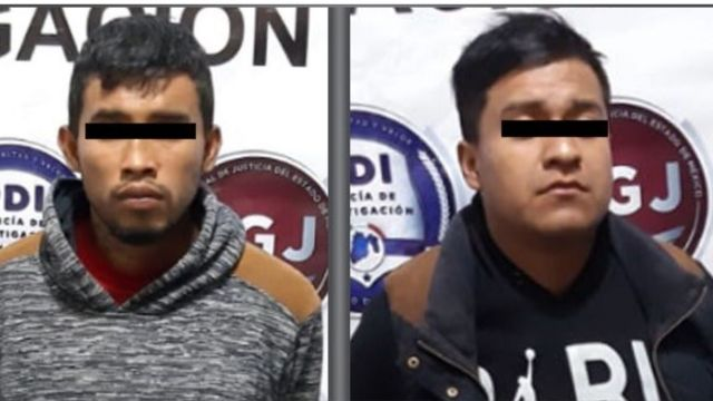 Detenidos por robo a transporte público en Tecámac