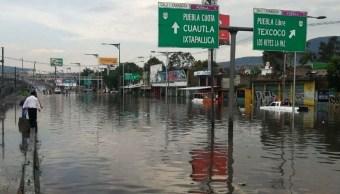 Foto: La Calzada Ignacio Zaragoza quedó inundada. El 10 de julio de 2019