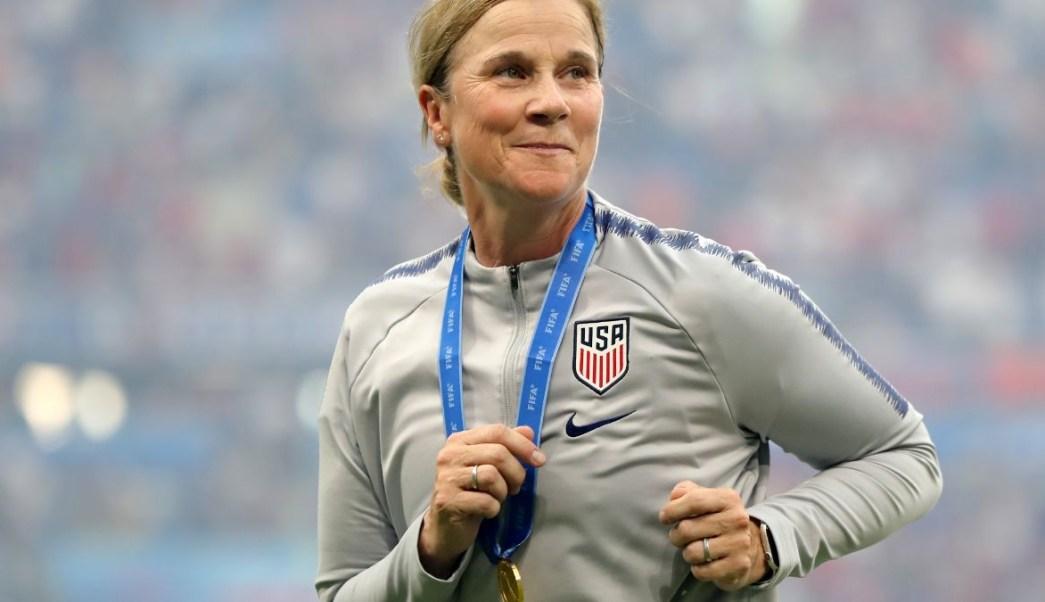 Foto: Jill Ellis, entrenadora de la selección femenil de futbol de EEUU. Getty Images