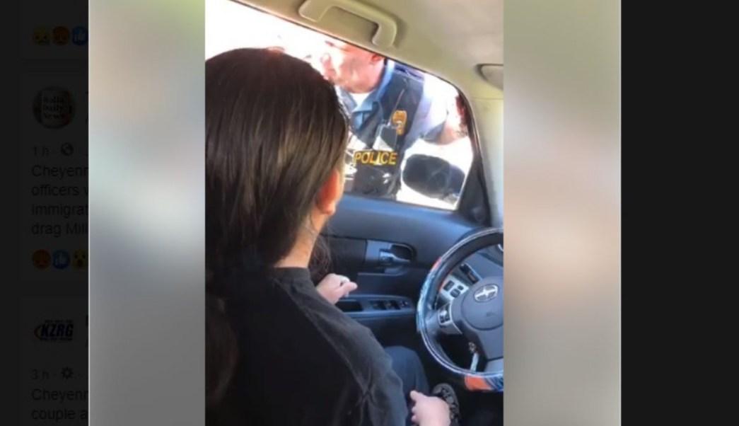 Foto: Agentes de ICE arrestaron al migrante mexicano, Florencio Millán Vázquez. El 22 de julio de 2019. Law Office of Jessica Piedra, LLC/Facebook