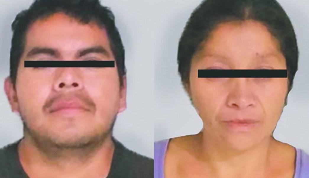 """Foto: Juan """"N"""" y Patricia """"N"""", conocidos como los """"monstruos de Ecatepec""""."""