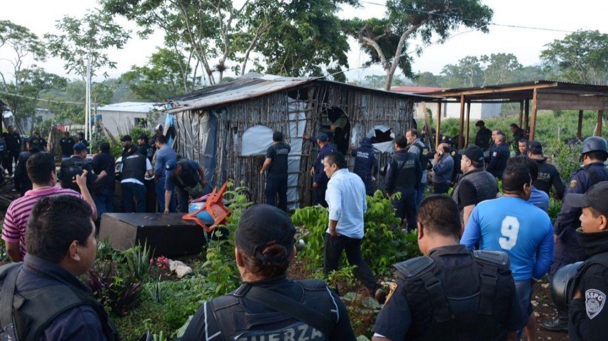 Recuperación de predios invadidos en Chiapas