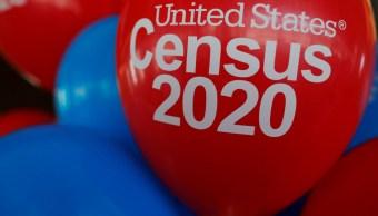 Foto: Activistas decoran con globos un evento sobre el Censo 2020 en Estados Unidos. El 1 de abril de 2019