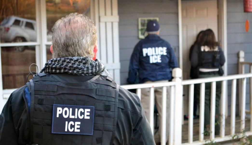 Foto: Operativo de la agencia ICE en la ciudad de Atlanta, en Georgia, EEUU. El 9 de febrero de 2017
