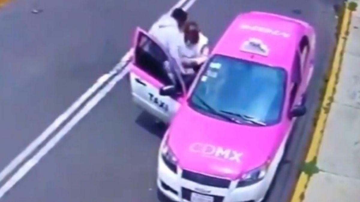Foto: Un taxista de la Ciudad de México robó a una mujer en sillas de ruedas. El 20 de julio de 2019. C5