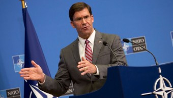 Foto: Mark Esper, secretario interino de Defensa de Estados Unidos. El 27 de junio de 2019