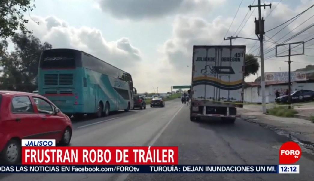 Foto: Los detenidos, de 23, 41 y 42 años de edad, fueron puestos a disposición de la Fiscalía Estatal de Jalisco, 20 de julio de 2019 (Noticieros Televisa)