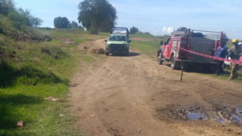 Se registra fuga de combustible en ducto de San Martín Texmelucan, Puebla (Twitter)