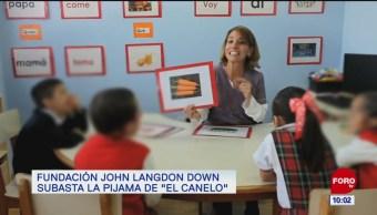 Fundación John Langdon Down subasta la pijama de 'El Canelo'