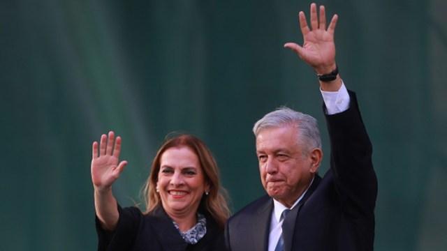 Imagen: Beatriz Gutiérrez Müller, 25 de julio de 2019 (Getty Images, archivo)
