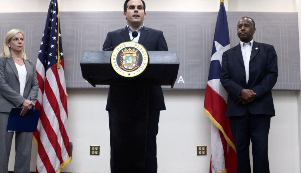 Foto: El gobernador de Puerto Rico, Ricardo Rosselló, anuncia que no buscará la reelección de 2020, el 21 de julio de 2019 (Reuters)