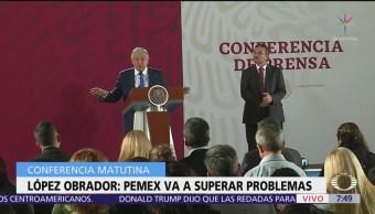 Gobierno de AMLO anuncia plan para rescatar a Pemex