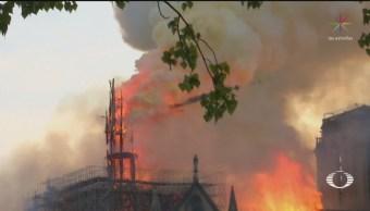 Foto: Qué Ocasiono Incendio Notre Dame 17 Julio 2019