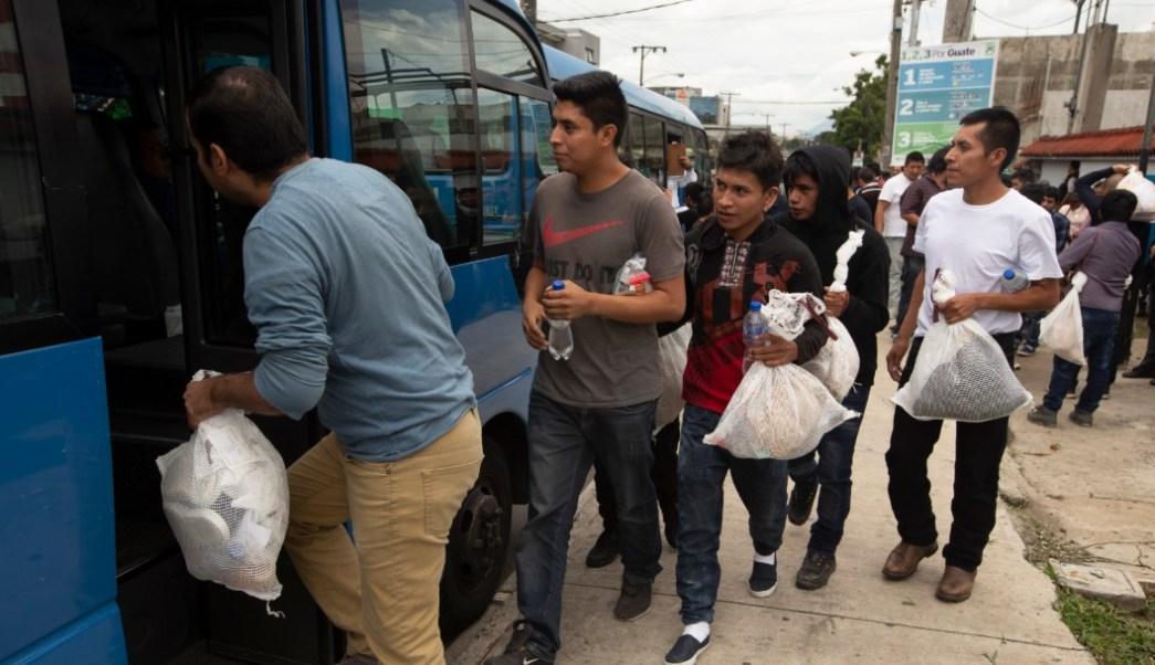 Foto: Migrantes guatemaltecos deportados por Estados Unidos, 16 de julio de 2019