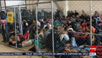 Foto: Hacinamiento Migrantes Instalaciones Patrulla Fronteriza 2 Julio 2019