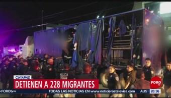 Foto: 228 Migrantes Camión Refescos Chiapas 8 Julio 2019