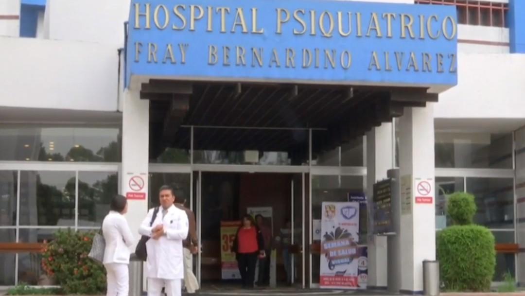 Foto: Hospital psiquiátrico Fray Bernardino Álvarez, Ciudad de Méixco