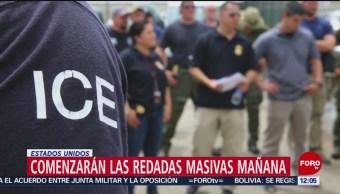 FOTO: ICE alista arrestos contra miles de migrantes indocumentados en EU, 13 Julio 2019