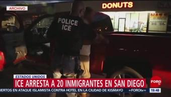 Foto: Detencion Migrantes ICE San Diego Estados Unidos 12 Julio 2019