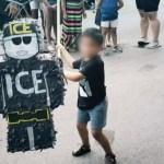 Piñata en forma de agente del ICE causa polémica en Chicago
