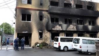 FOTO Plagio de novela motivó incendio de Kyoto Animation (EFE)