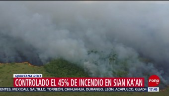 Incendio reserva Sian Ka'an afecta 1,500 hectáreas