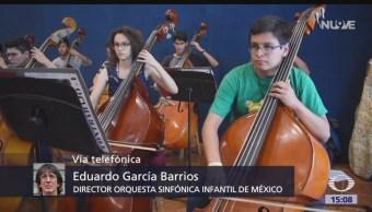 Inicia gira de la Orquesta Sinfónica Infantil de México