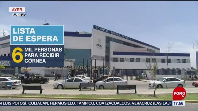 Foto: Instalan banco de ojos en hospital de Puebla
