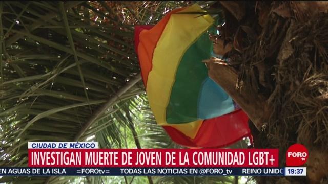 Foto: Homicidio Joven Comunidad Gay Bar Zona Rosa 8 Julio 2019