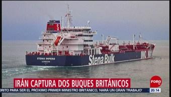 Foto: Irán Captura Buque Petrolero Británico Estrecho De Ormuz 19 Julio 2019