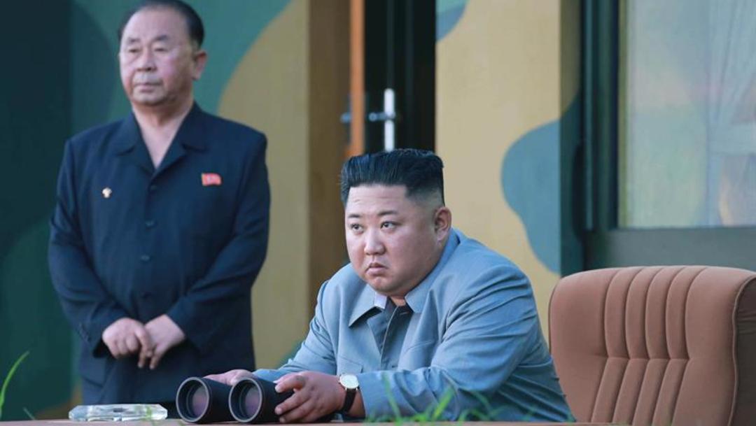 Image: Kim supervisó el primer vuelo de un arma que no había sido probada previamente, 27 de julio de 2019, (EFE, archivo)