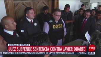 Foto: Suspende Sentencia Javier Duarte 22 Julio 2019
