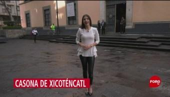 FOTO: La Casona de Xicoténcatl durante 80 años fue sede del Senado, 13 Julio 2019