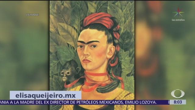 La humanista Elisa Queijeiro explica a Frida Kahlo