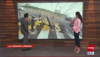 #LaCámaraUrbana en Expreso: Señalamiento vial en malas condiciones