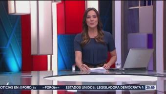 Foto: Las Noticias Danielle Dithurbide Forotv 18 Julio 2019