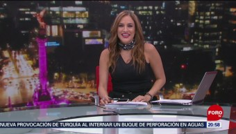Foto: Las Noticias Danielle Dithurbide Forotv 8 Julio 2019