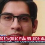 Foto: Madre Norberto Ronquillo Hijo Sin Lujos 22 Julio 2019
