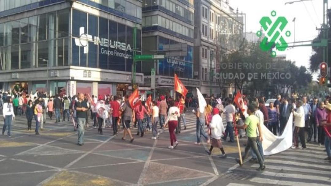 Foto Marchas y concentraciones complicarán vialidad en CDMX 25 julio 2019