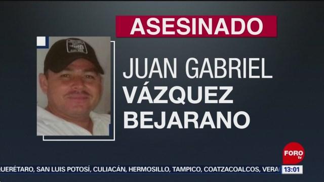 FOTO: Matan a agente de la Policía Investigadora en Colima, 27 Julio 2019