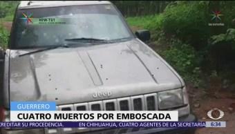 Matan a cuatro personas, incluidos dos menores, en Chilpancingo