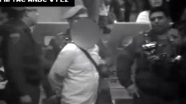 FOTO Metro CDMX detecta a 'El Chocorrol', líder de banda que roba celulares (Metro)