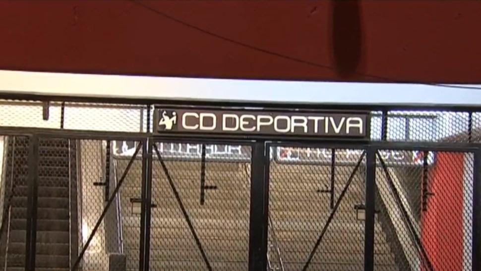 Foto: Estación Ciudad Deportiva de la línea 9 del Metro, 15 de julio de 2019, Ciudad de México