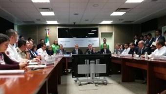 FOTO México tendrá centro alterno para monitoreo de sismos, dice Durazo (@CNPC_MX)