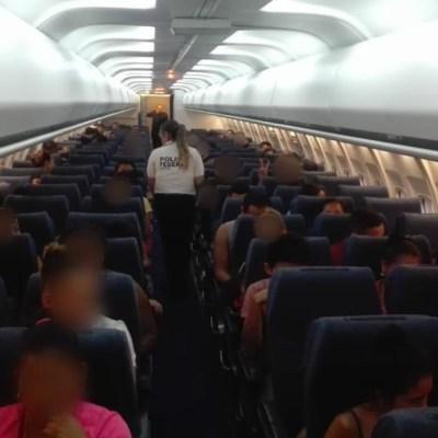 México deporta a 106 migrantes hondureños desde Veracruz